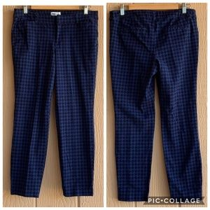 Old Navy casual Houndstooth cropped pants